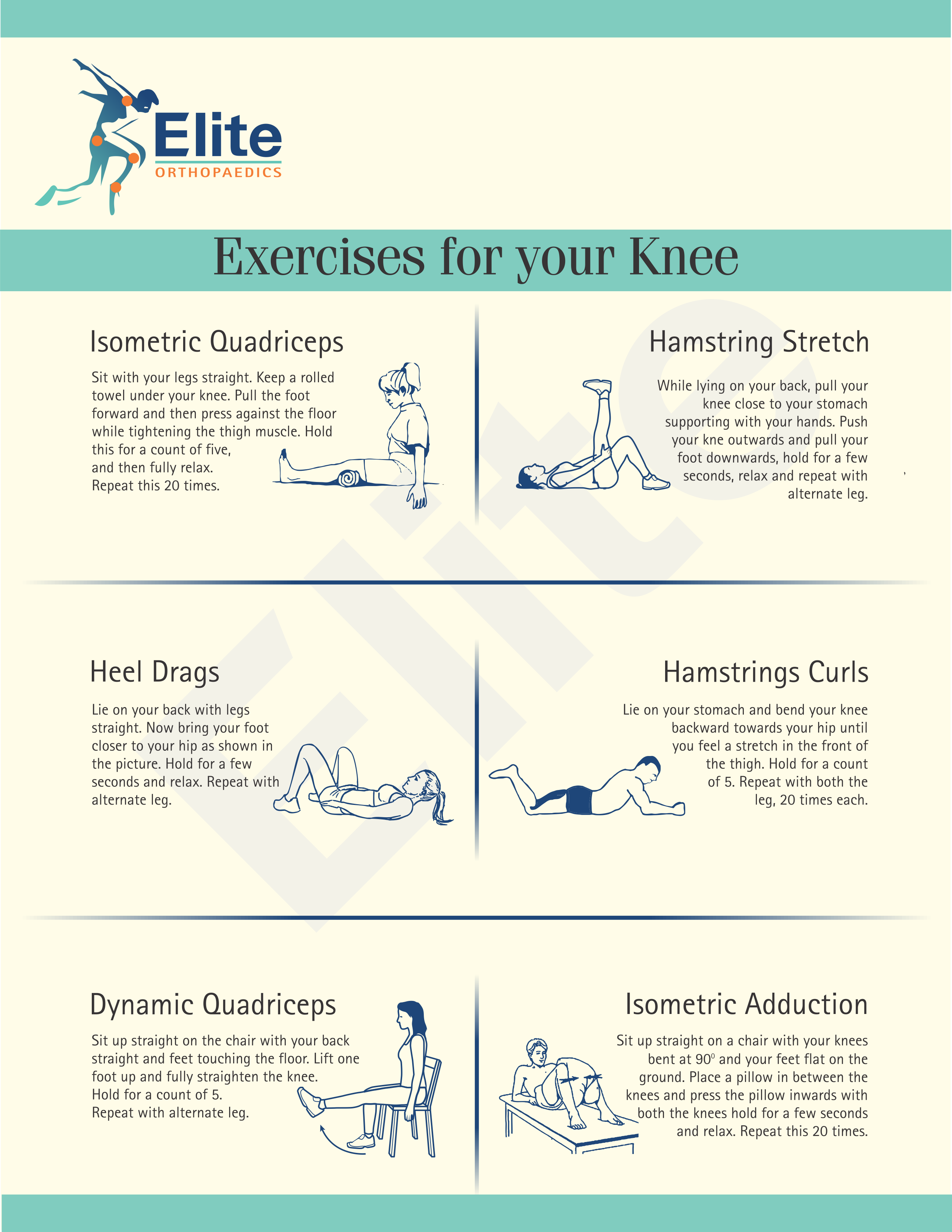 Exercise for Knee