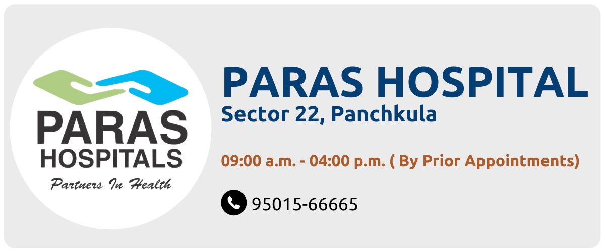 OPD at Paras Hospital, Panchkula